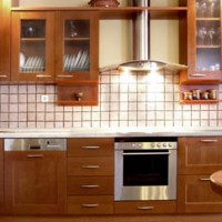Glass Inset Kitchen Cabinets