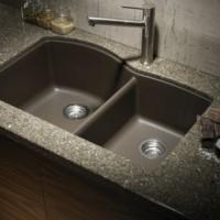 Enameled Kitchen Sink