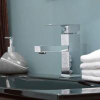 Single Hole Levered Bathroom Faucet